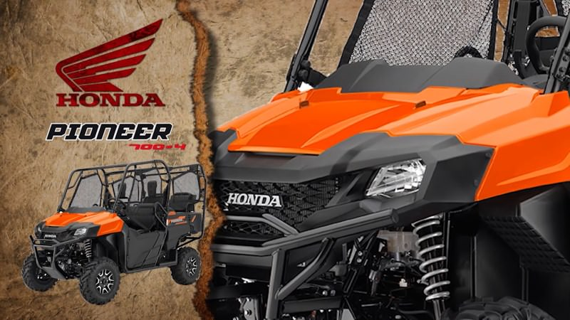 2018 Honda Pioneer 700-4 Deluxe Review / Specs - Changes, Price, Colors, Horsepower & Torque