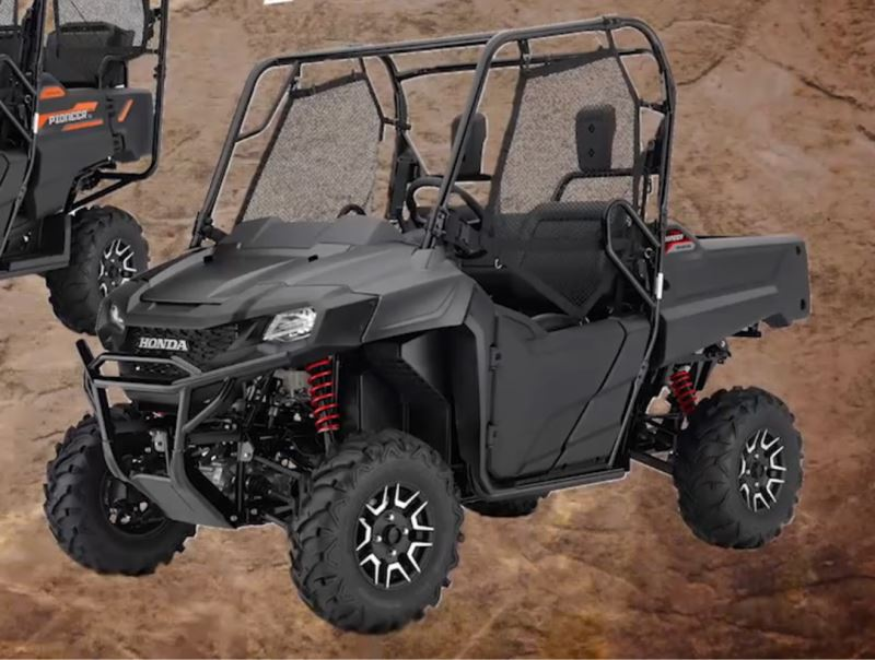 2018 honda side by side. exellent side 2018 pioneer 10005 le photo gallery  pictures inside honda side by