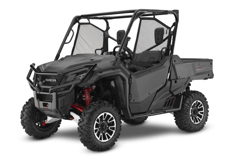 2018 Honda Pioneer 1000 Limited Edition Review / Specs - 3-Seater Side by Side / UTV / SxS Utility Vehicle (SXS10M3PL / SXS10M3PLJ)