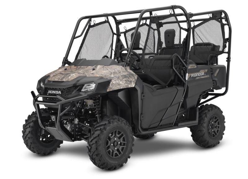 2018 Honda Pioneer 1000 700 500 Side By Side Models
