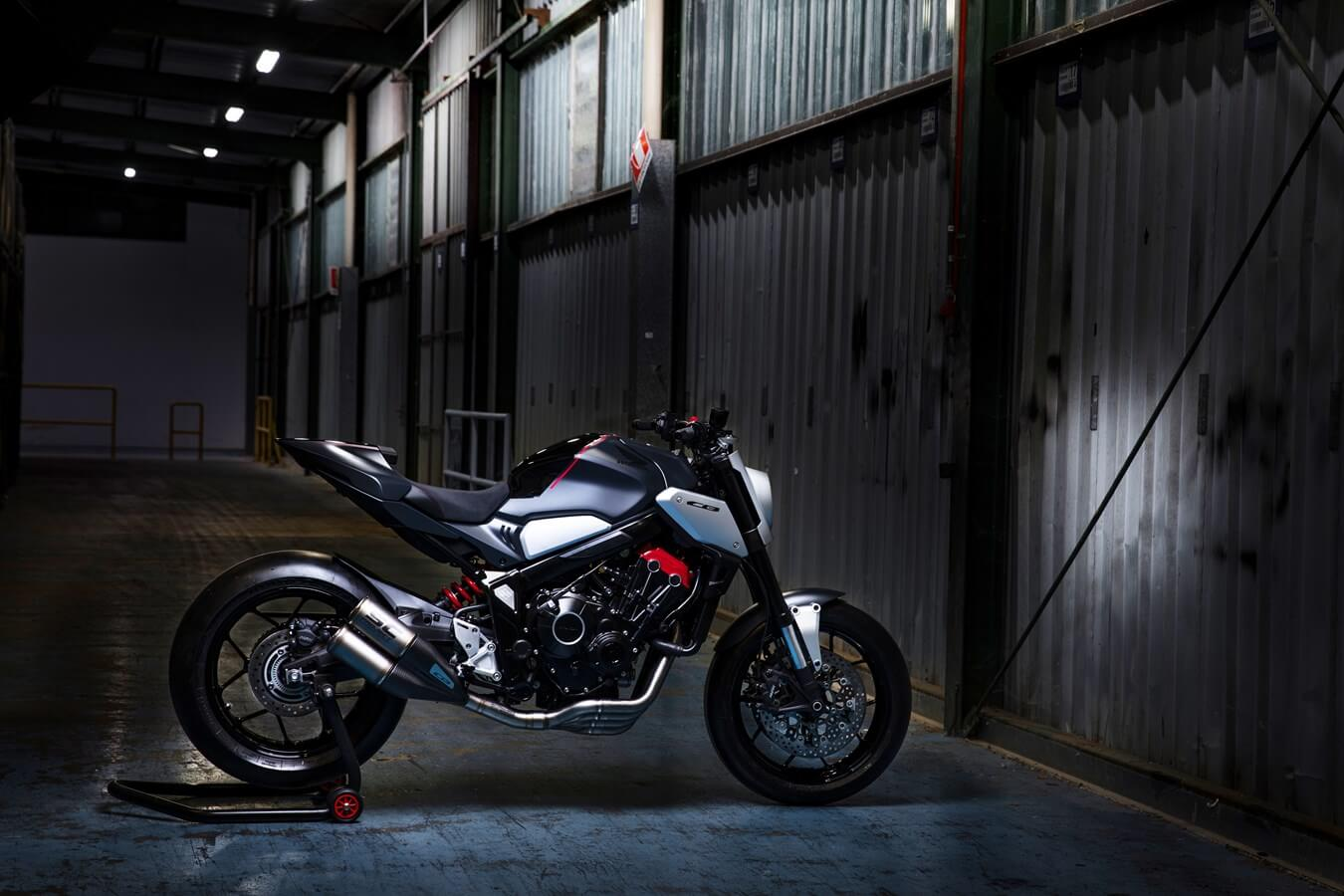 NEW 2019 Honda CB650R Neo Sports Cafe Concept Motorcycle Released! | Intermot 2018