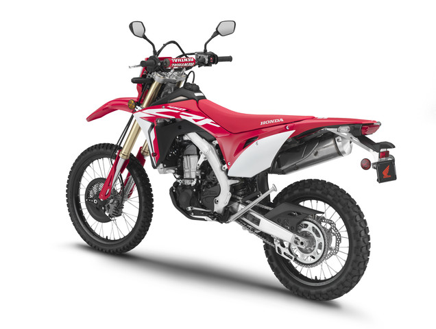 2019 Honda CRF450L Review of Specs / Features + R&D Info | All-NEW