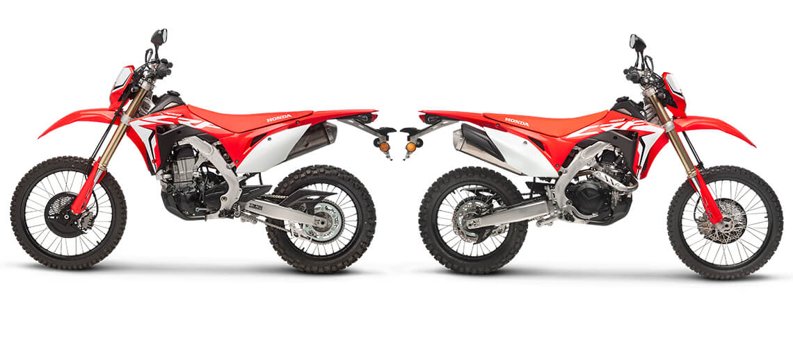 2019 Honda CRF450L Dual-Sport Motorcycle / Enduro Bike Review & Specs | CRF 450 L