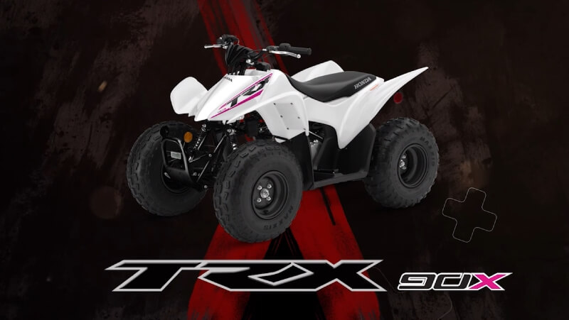 2019 Honda TRX90X ATV Review / Specs / Changes + Buyer's Guide | TRX90 Kids / Youth Four-Wheeler