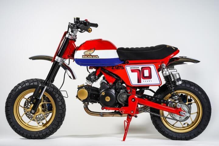 Custom 2019 Honda Monkey 125 'TRACKER' Mini Bike ...