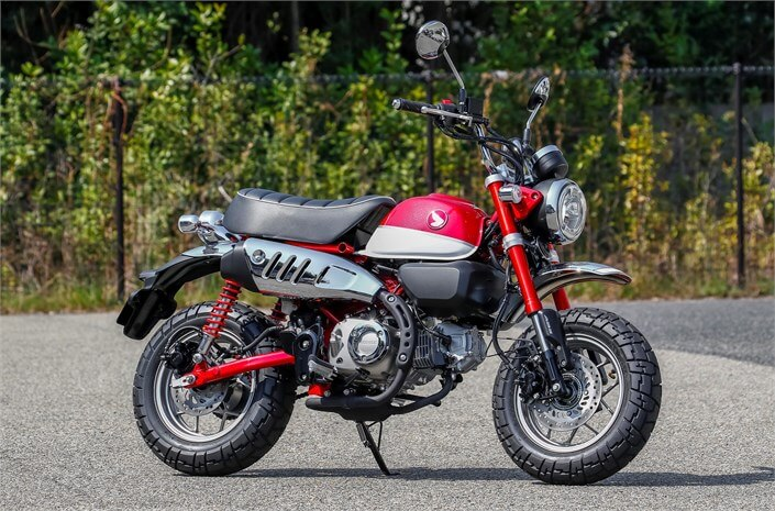 2019 Honda Monkey Review of Specs / Features | Buyer's Guide: Price, Release Date, Colors, MPG + More on Honda's all new 125cc Mini Trail Bike / Motorcycle...