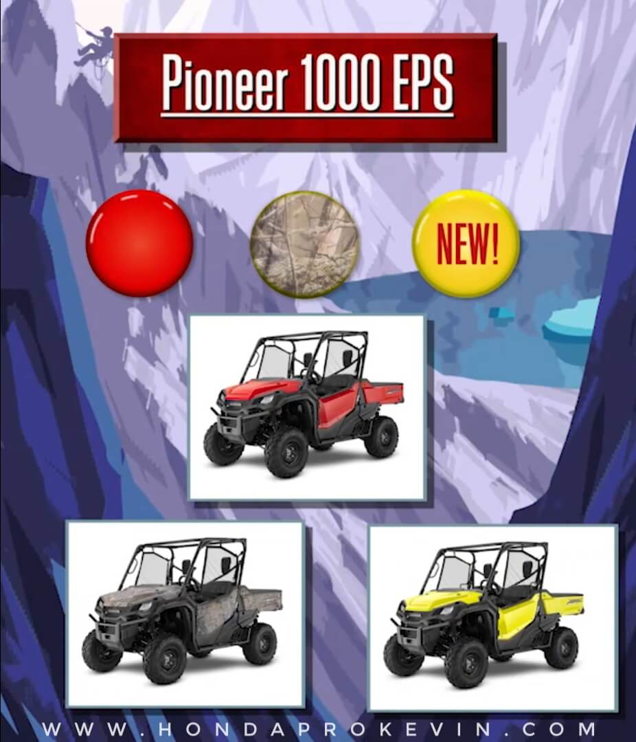 2019 Honda Pioneer 1000 EPS Review / Specs | Price, Changes, Colors, Release Date + More! | Side by Side / UTV / SxS / ATV