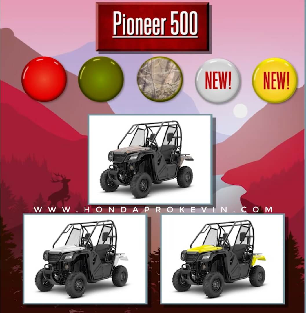 2019 Honda Pioneer 500 Review / Specs | Price, Changes, Colors, Release Date + More! | Side by Side / UTV / SxS / ATV