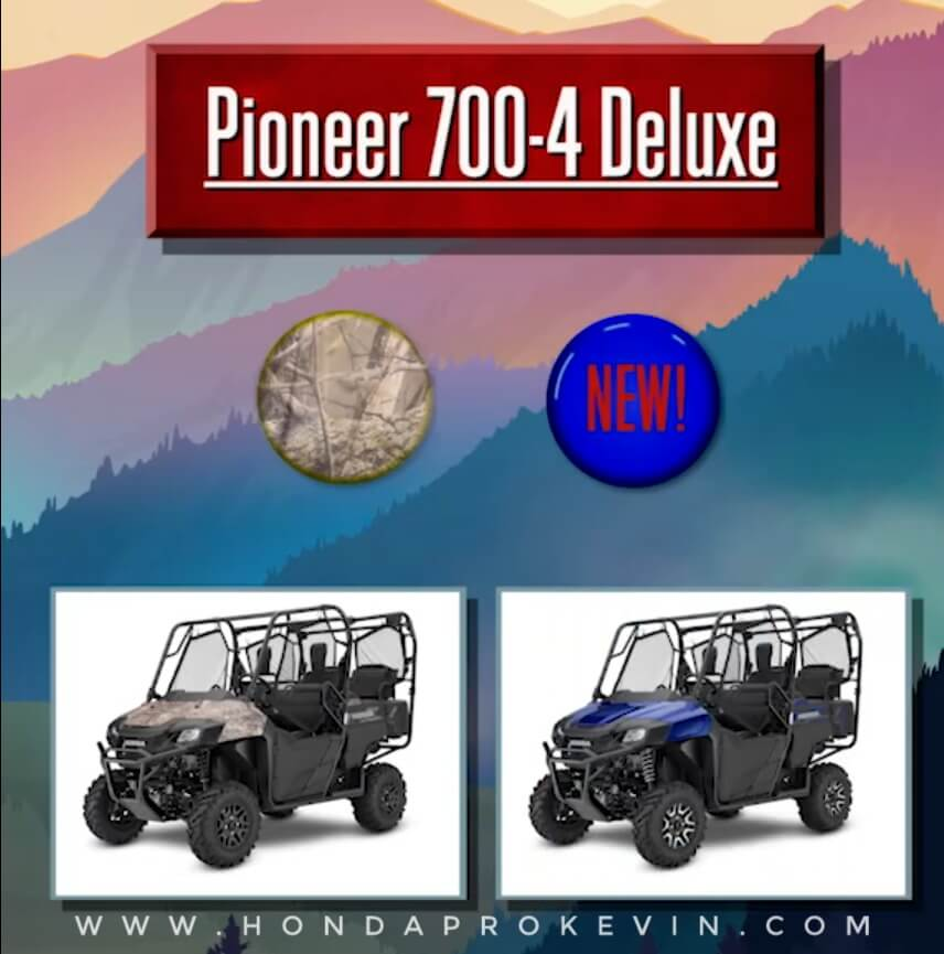 2019 Honda Pioneer 700-4 Deluxe Review / Specs | Price, Changes, Colors, Release Date + More! | Side by Side / UTV / SxS / ATV