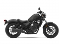 2019 Honda Rebel 300 Review of Specs / New Changes: Colors, Price, MPG, Seat Height, Weight + More! | CMX300 Matte Gray Metallic