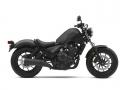 Detailed 2019 Honda Rebel 500 Review: Specs, Price, MPG, Seat Height, Weight, HP & TQ + More! | Motorcycle style: Cruiser / Bobber | Matte Gray Metallic