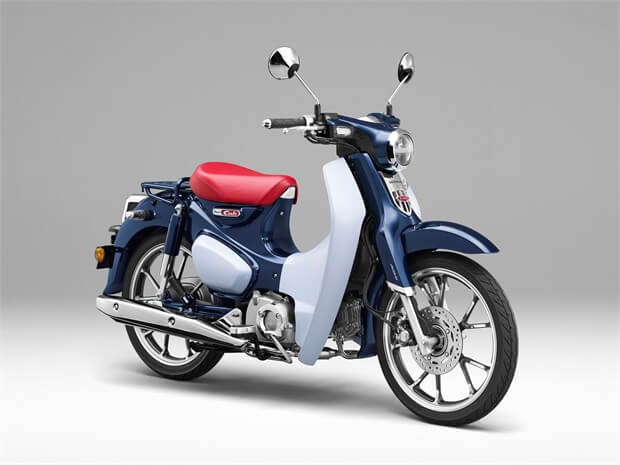 all new 2019 honda super cub 125 review of specs features motorcycle scooter. Black Bedroom Furniture Sets. Home Design Ideas