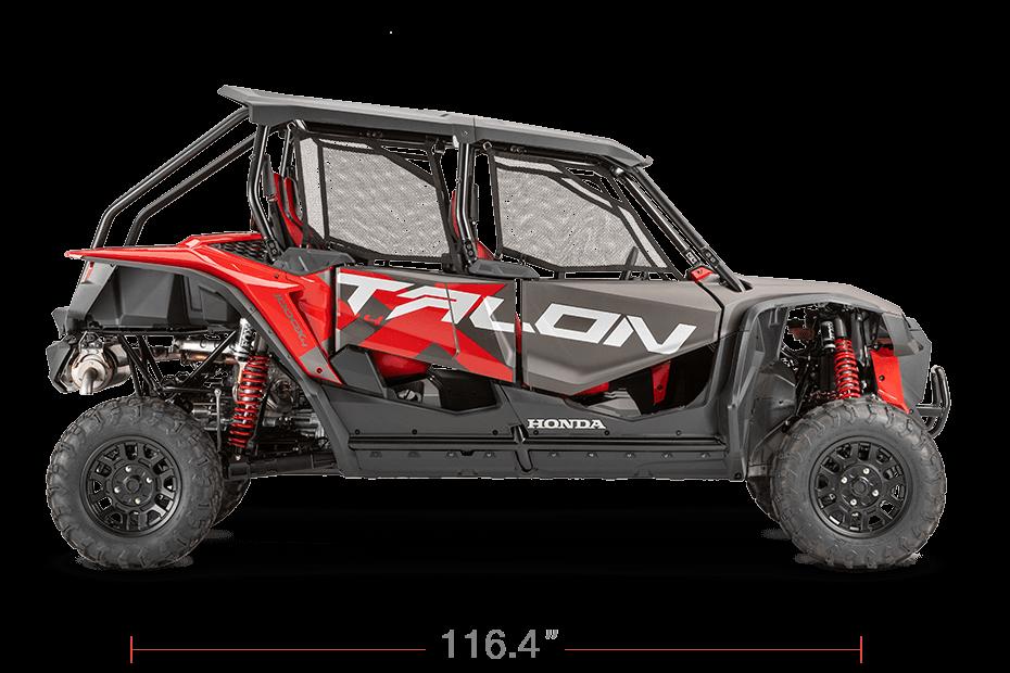 2020 Honda TALON 1000 X 4-Seater Wheelbase / Length | Dimensions & Measurements