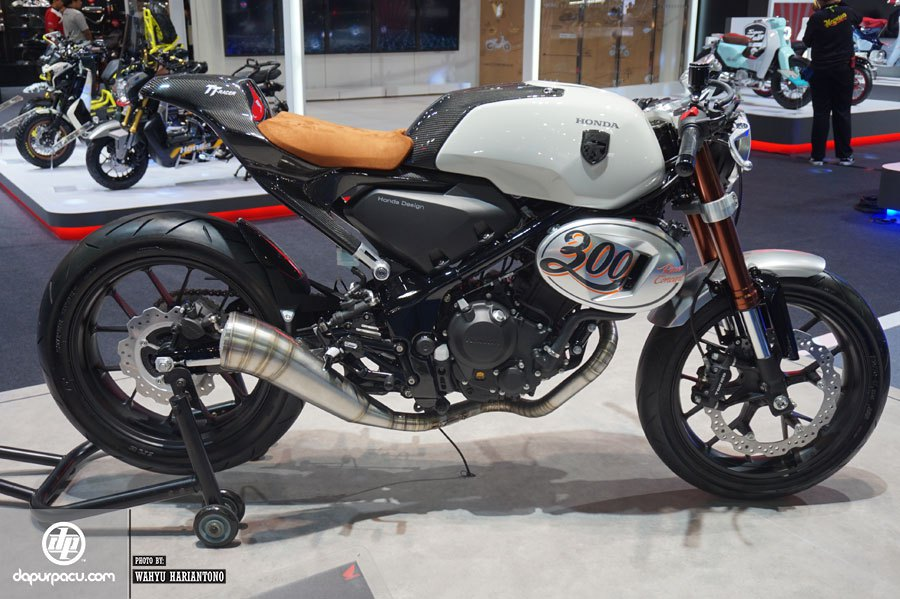 New Honda 300 Tt Racer Concept Motorcycle Released Bangkok
