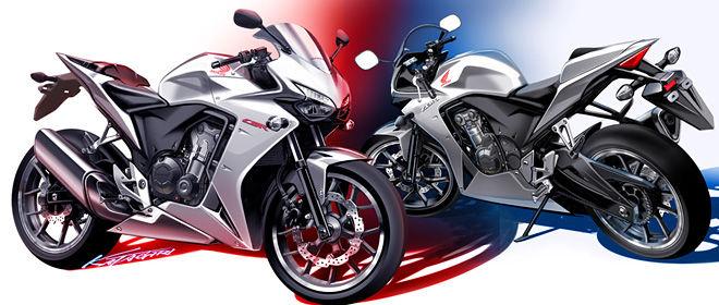 Honda CBR 500 Motorcycle Concept / Prototype Sport Bike - CBR500R / CB500X / CB500F