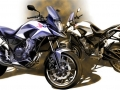 Honda 500 Adventure Motorcycle Concept / Prototype Bike - CBR500R / CB500X / CB500F
