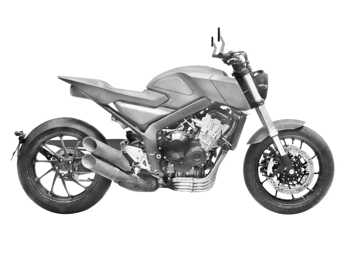 2017 Honda CBsix50 Concept Motorcycle / Scrambler Sport Bike - CBR 650 F / CBR650F