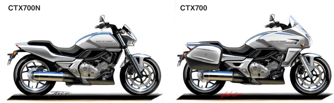 2018 Honda CTX700 & CTX700N Concept / Prototype Motorcycle Pictures & Photos