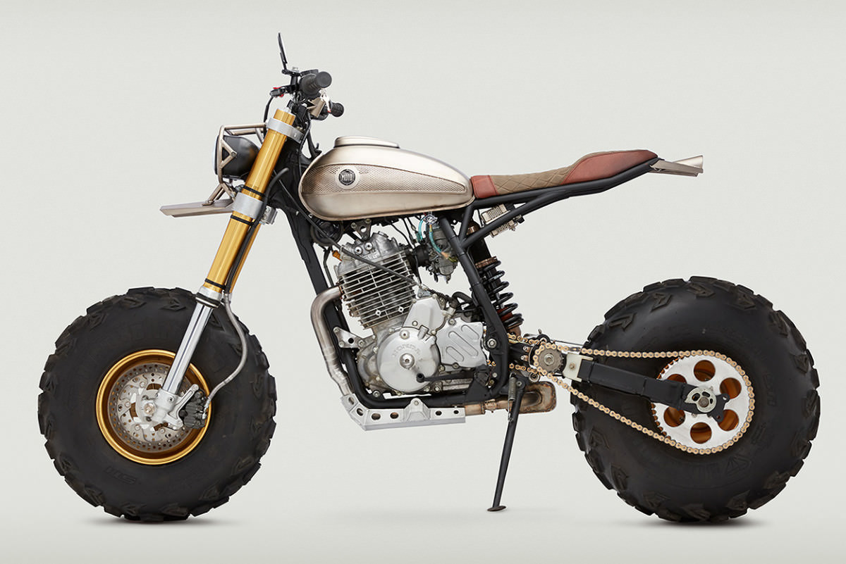Custom Honda XR650L U003d Fat Cat Of The 21st Century?   Crazy Custom Motorcycle  Build By Classified Moto | Honda Pro Kevin
