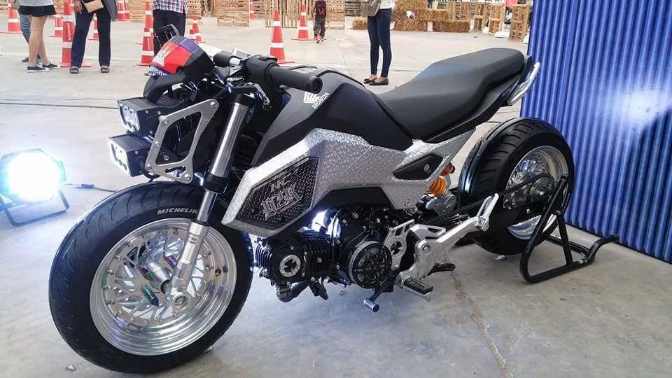 Parent Directory Custom Honda Grom Msx 125 Lowered Motorcycle Msx125sf Mini Bike Naked Sport Streetfighter 56