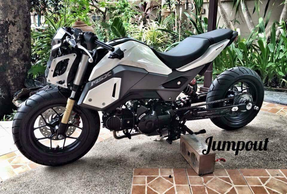 2017 honda msx125 review of specs new changes. Black Bedroom Furniture Sets. Home Design Ideas