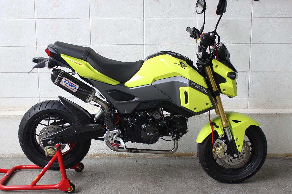 new 2017 honda grom msx 125 exhaust systems released by tyga honda pro kevin. Black Bedroom Furniture Sets. Home Design Ideas