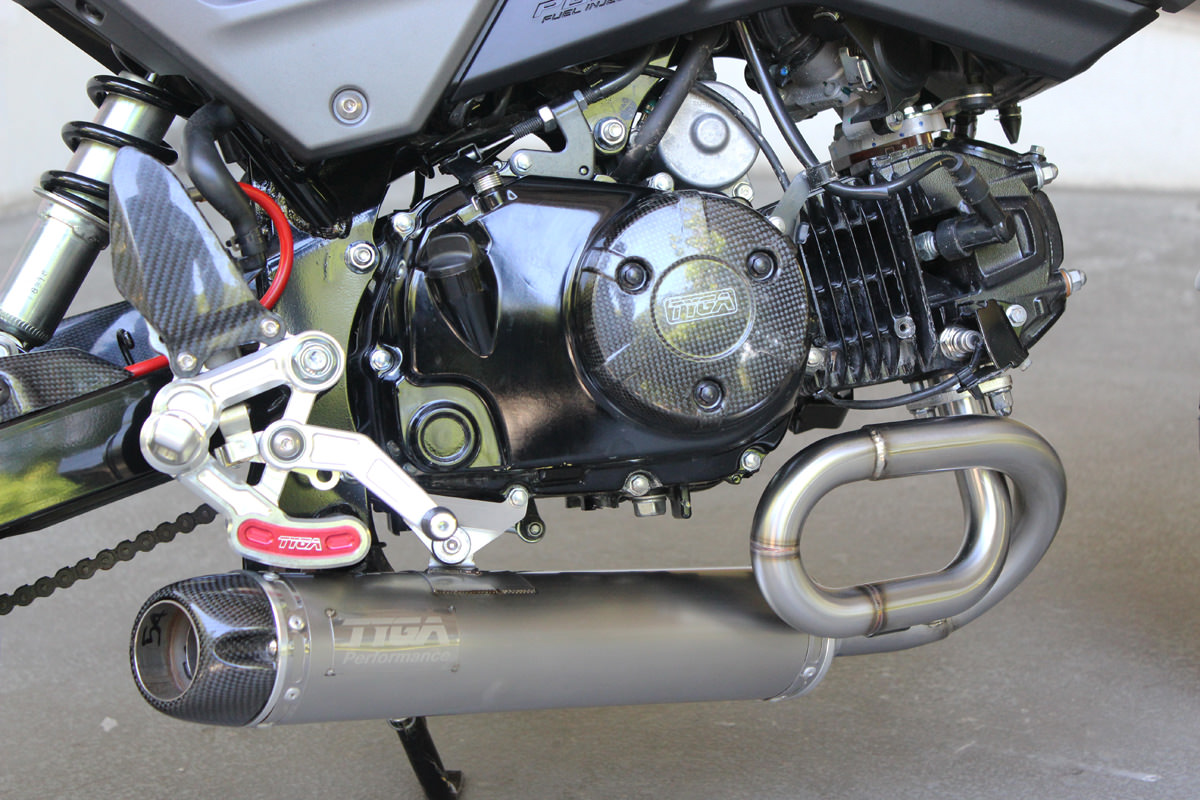 New 2017 Honda Grom & MSX 125 Exhaust Systems Released by