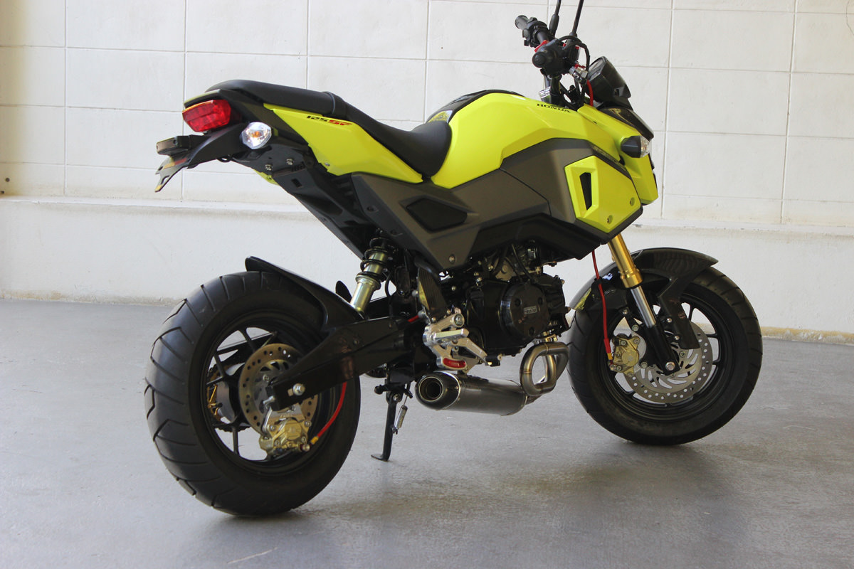 New 2017 Honda Grom & MSX 125 Exhaust Systems Released by Tyga! | Honda-Pro Kevin