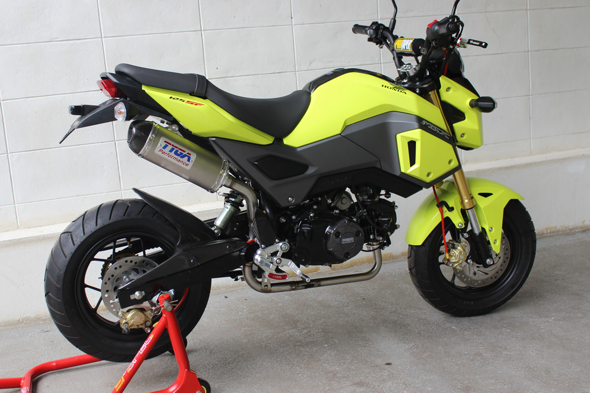 Custom 2017 Honda Grom Msx 125 Motorcycle Pictures 2017