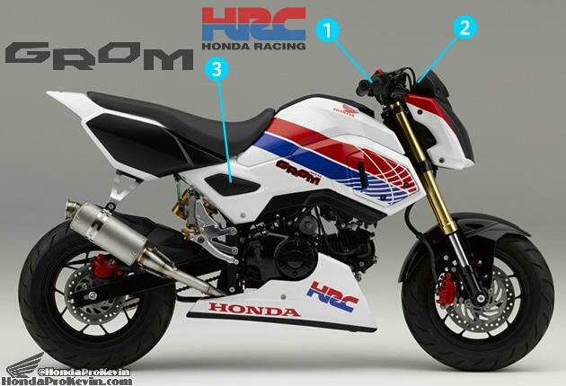 New Honda Grom / MSX125SF Race Bike - Built by HRC / Osaka