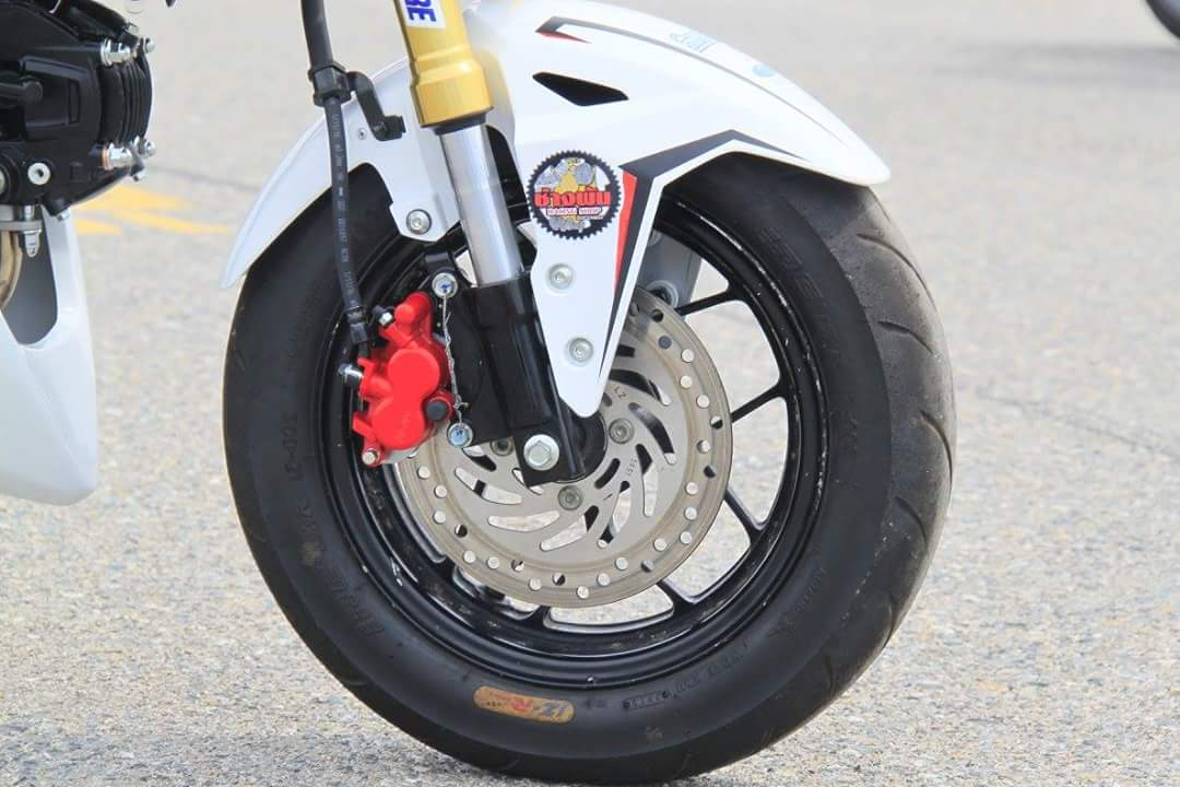 New Honda Grom / MSX125SF Race Bike - Built by HRC / Osaka Motorcycle Show | Honda-Pro Kevin