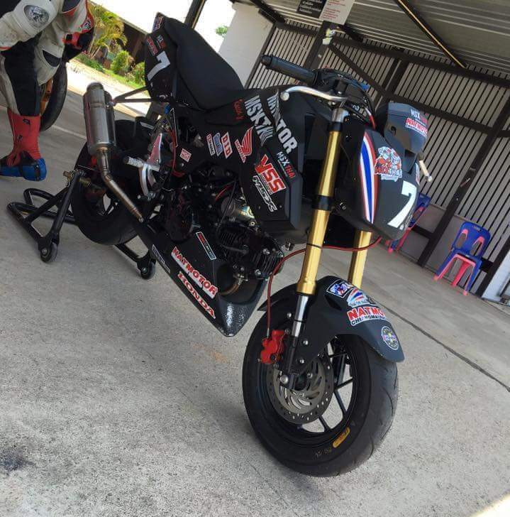 New Honda Grom / MSX125SF Race Bike - Built by HRC / Osaka ...