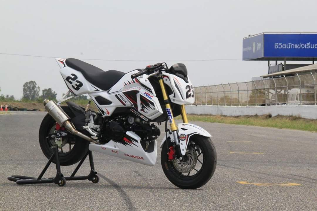 New Honda Grom Msx125sf Race Bike Built By Hrc Osaka