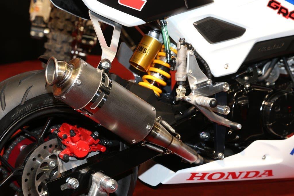 New Honda Grom / MSX125SF Race Bike - Built by HRC / Osaka Motorcycle Show   Honda-Pro Kevin