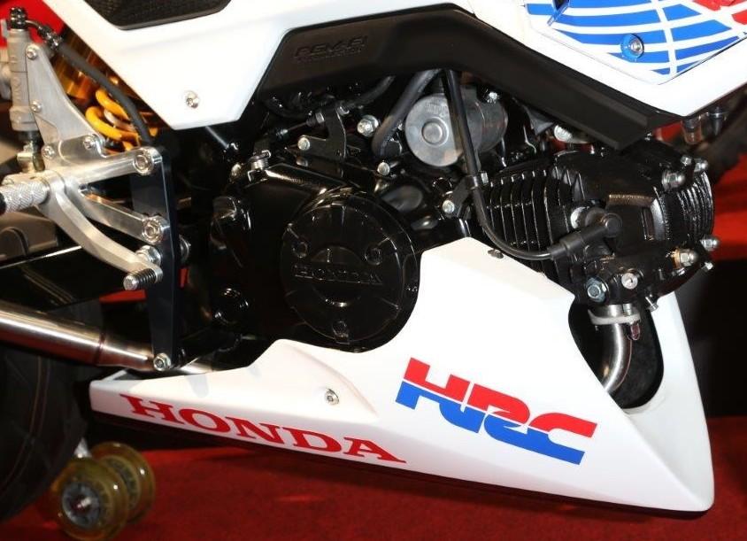 New Honda Grom / MSX125SF Race Bike - Built by HRC / Osaka ...