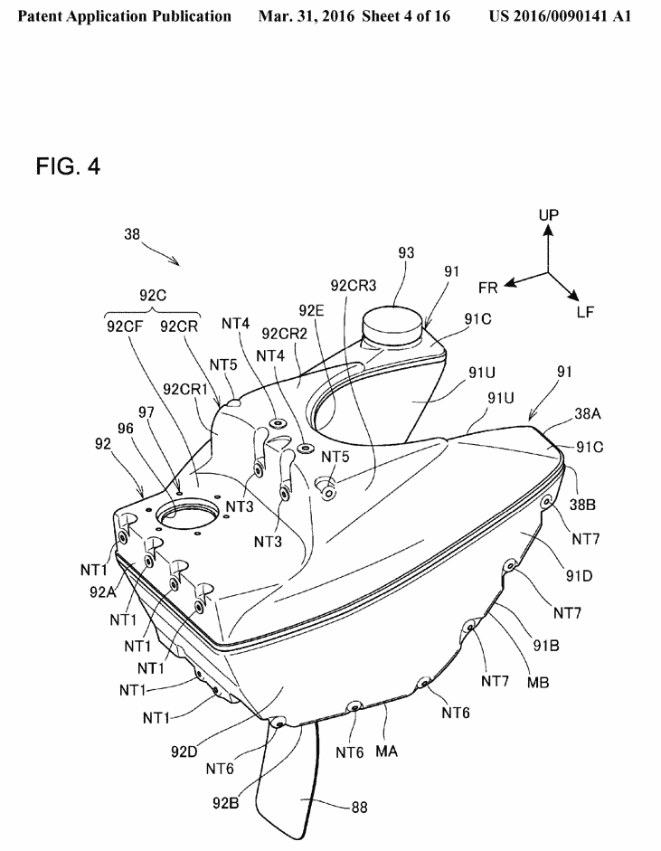 index of   pictures  motorcycle rear fuel tank patent