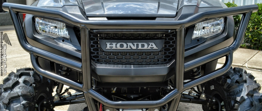 2018 honda pioneer.  2018 honda pioneer 700 front bumper u0026 winch review  brush guard side by  intended 2018 honda pioneer