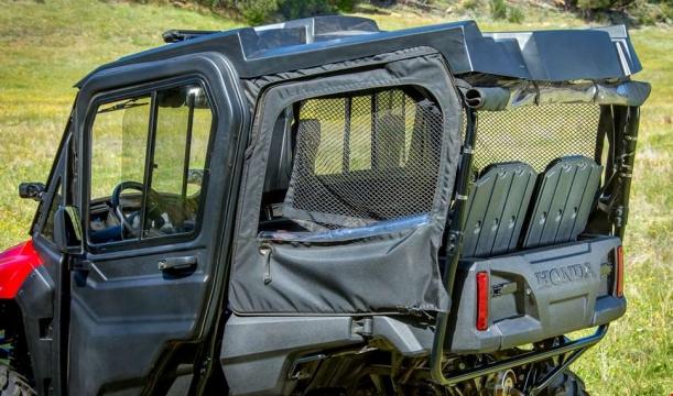 Honda Pioneer 700-4 Accessories Review - Doors Top / Roof - Side by & 2014 Honda Pioneer 700-4 Accessories Review | Prices u0026 Detailed ...