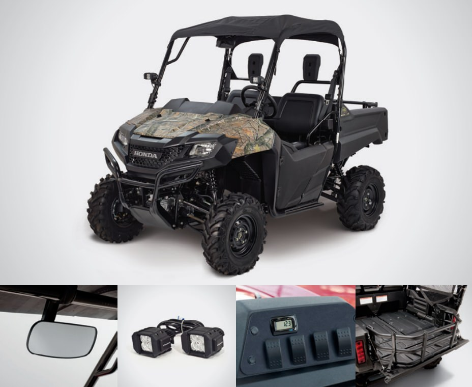 Honda Pioneer 700 Outdoor Accessories Package Review - Hard Top / Roof, LED Lights, Wheels & Tires, Windshield / Windscreen - Side by Side ATV / UTV / SxS / Utility Vehicle 4x4 - SXS700M2