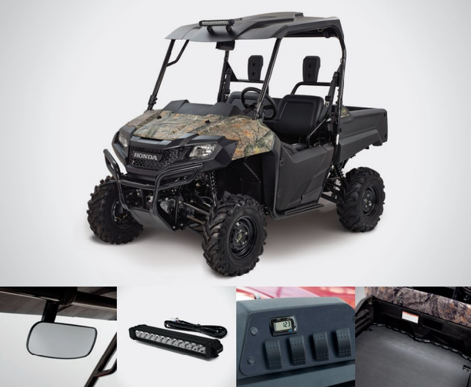 2018 honda 700. exellent 700 honda pioneer 700 work accessories package review  hard top  roof led  lights throughout 2018 honda