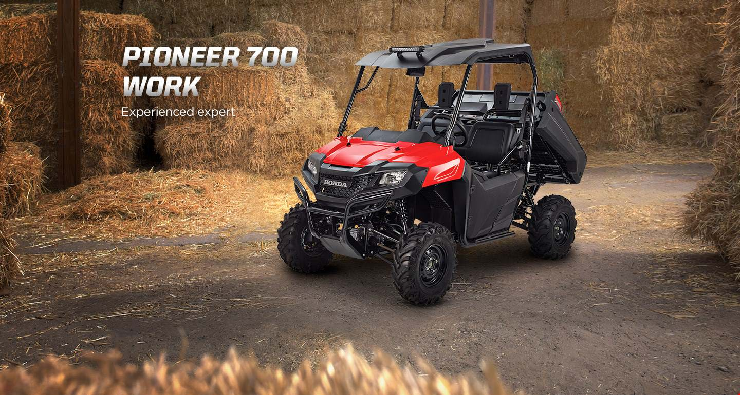 Honda Pioneer 700 Work Accessories Package Review - Hard Top / Roof, LED Lights, Wheels & Tires, Windshield / Windscreen - Side by Side ATV / UTV / SxS / Utility Vehicle 4x4 - SXS700M2