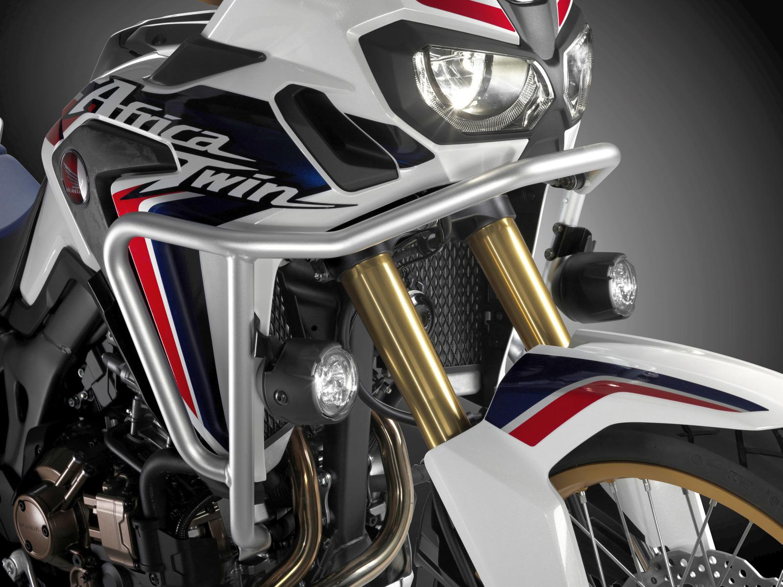 New 2016 honda africa twin accessories announced crf1000l honda allows the use of the ignition key to lock and unlock top case and panniers aloadofball Gallery