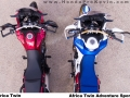 2018 Honda Africa Twin VS Africa Twin Adventure Sports Comparison Review / Differences | CRF1000L VS CRF1000L2