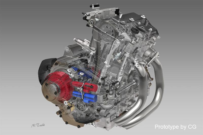 2016 Honda Africa Twin Development Review Engine Frame