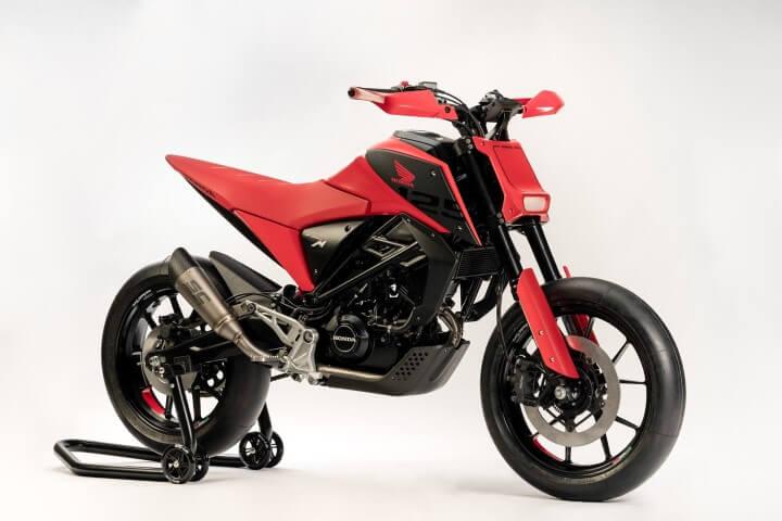 2020 Honda CB125M Concept SuperMoto Motorcycle / Motard | CB125R