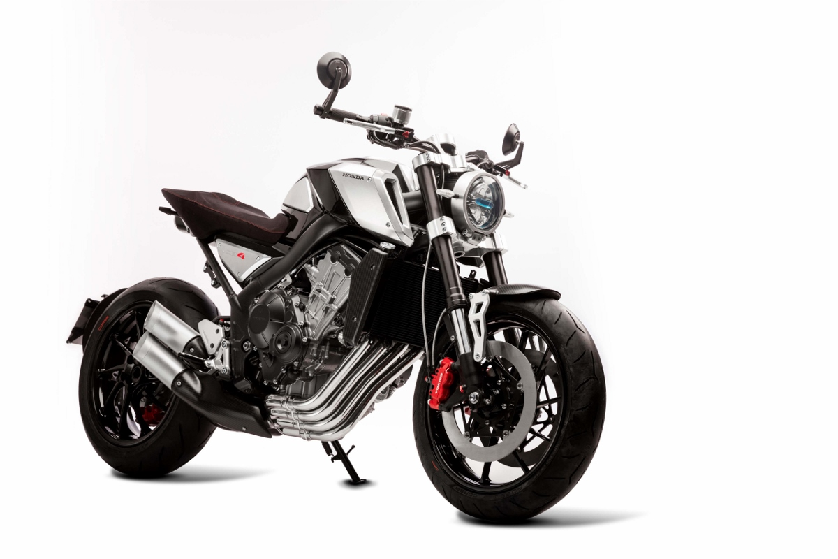 Honda Cb4 Concept Motorcycle Bikes Of The Future Eicma