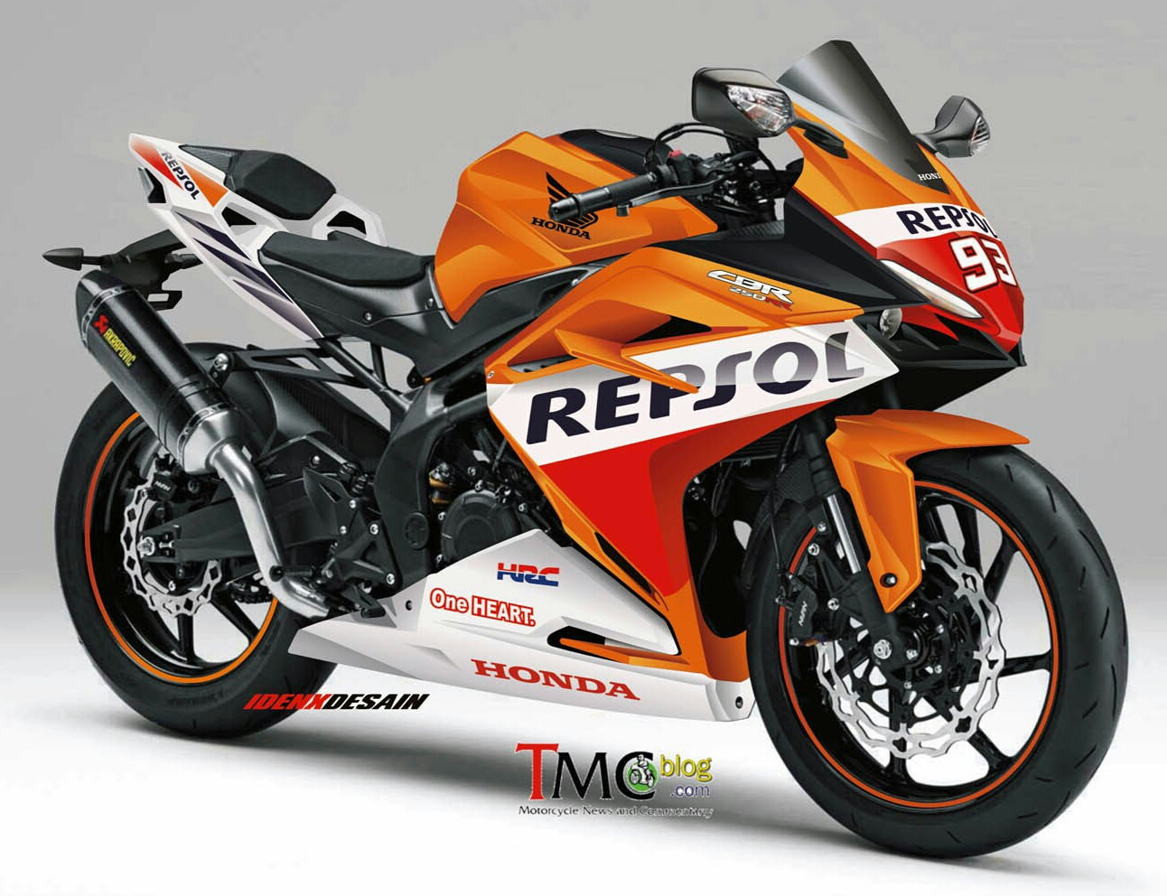 2016 / 2017 Honda CBR250RR Repsol SportBike Motorcycle | CBR350RR CBR300RR - Light Weight Super Sports Concept
