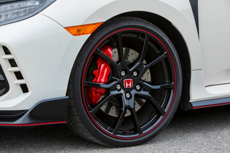 The 2017 Civic Type R S Wheel And Tire Sizes Include