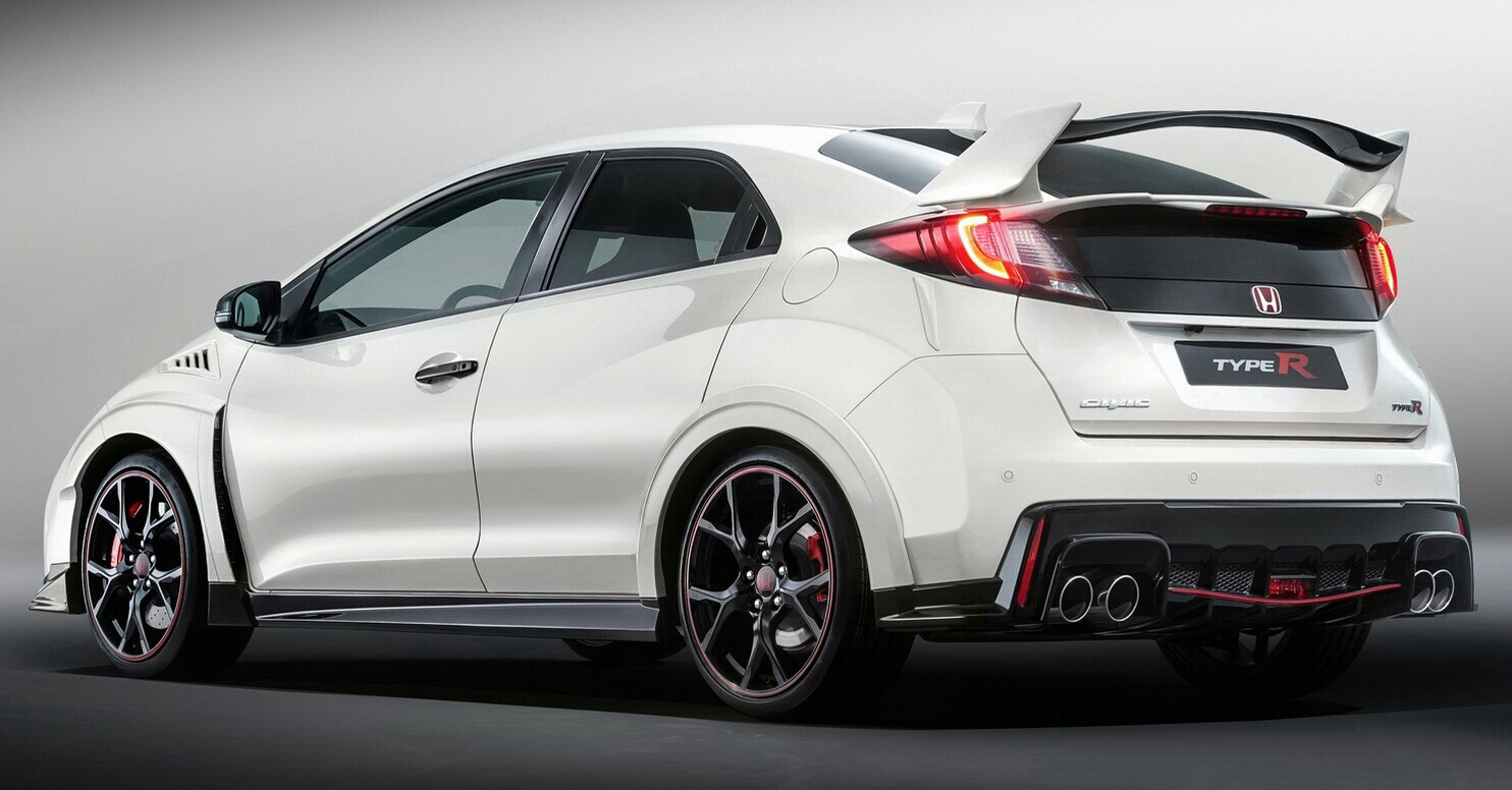 ... 2016 Honda Civic Type R Turbo Sports Car White Ctr ...