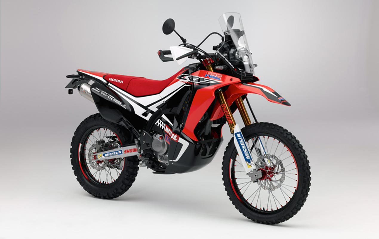 honda crf250 rally edging closer to production - 2017 the big year